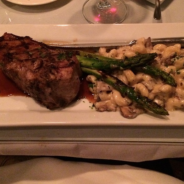 Veal Chop @ Collectors Cafe & Gallery