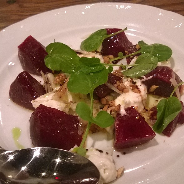 Shadow Brooks Beet Salad @ Avoli Osteria