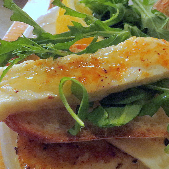 Grilled Halloumi Cheese @ Cheese & Crack Snack Shop