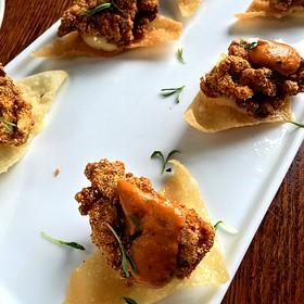 Nacho Mama's Oysters - MAX's Wine Dive Austin - San Jacinto Blvd., Austin, TX