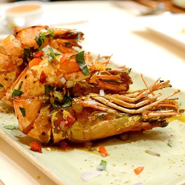 Curry Tiger Prawn,咖哩老虎蝦 @ Le Soleil 越南餐廳
