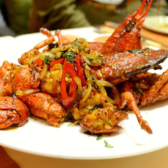 Wok-fried Lobster with Glutinous Rice,龍蝦糯米飯  @ Le Soleil 越南餐廳