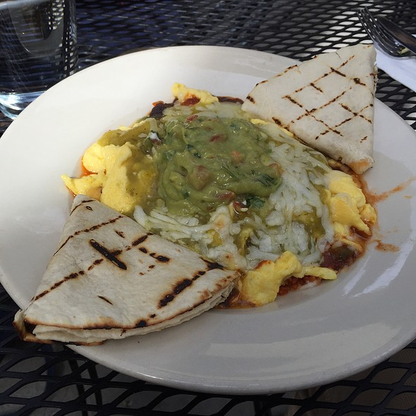 Huevos rancheros - Oasis Cafe - Salt Lake City, Salt Lake City, UT