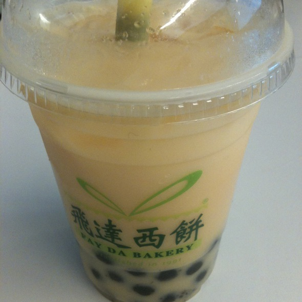 Papaya Bubble Tea @ fay da bakery