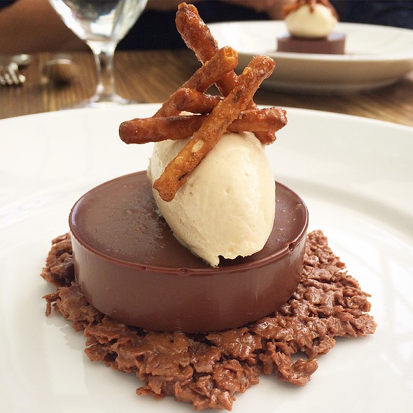 Nutella Tart with Peanut Butter Mousse @ Ella Dining Room & Bar