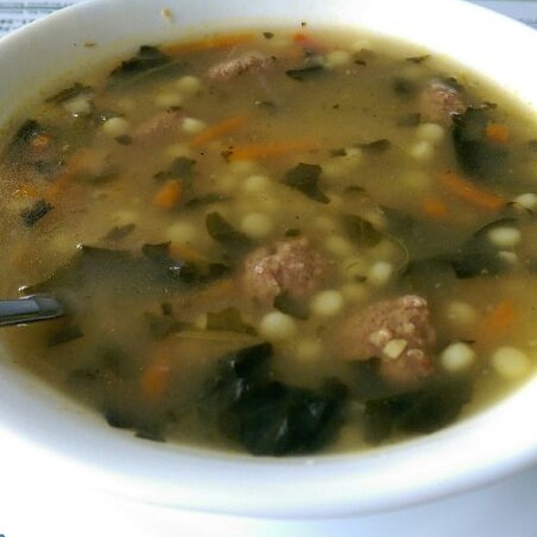 Italian Wedding Soup @ Dean's Diner