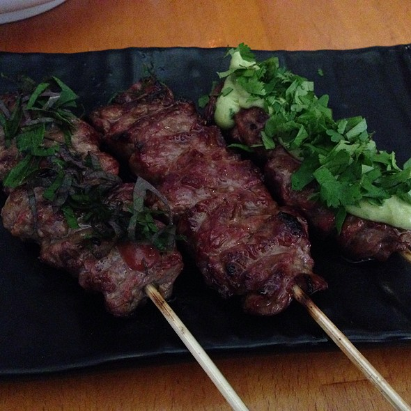 Meat Lover Beef Yakitori