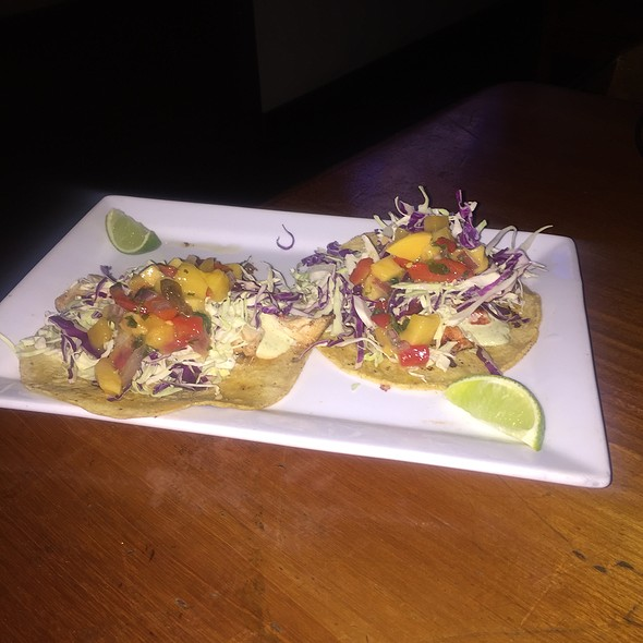 fish tacos @ Cardiff Beach Bar Tower 13