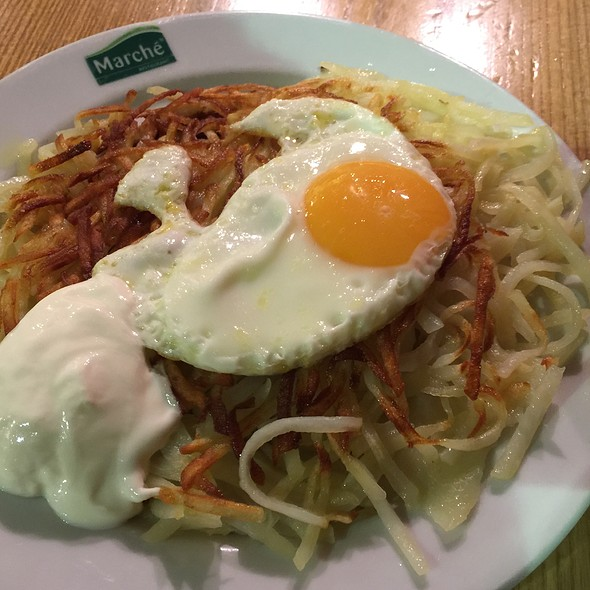 Rosti With Fried Egg
