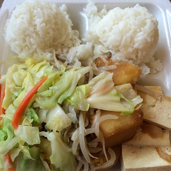 Veggie Plate @ Pearl Korean BBQ