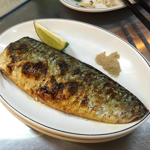 岩燒鯖魚 @ 轉角海鮮食堂