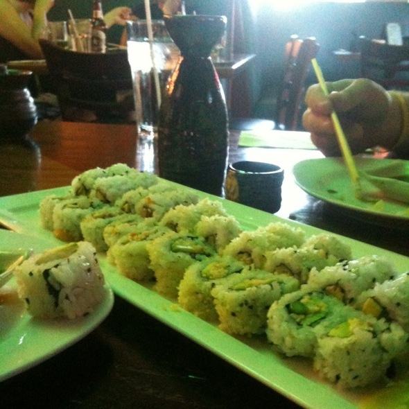 Happy Hour Sushi Rolls @ Haiku Japanese Restaurant