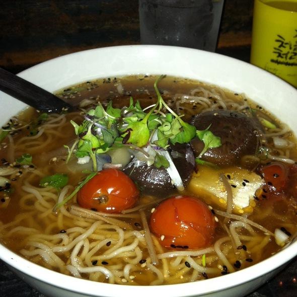 Vegetarian Ramen @ Toki Underground