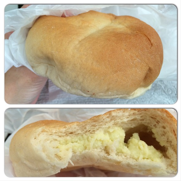 Custard Bun @ Sconees Bakery