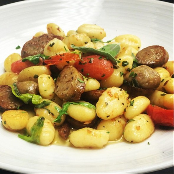 Gnocchi with Sausage & Fennel @ Grazie Italian Eatery