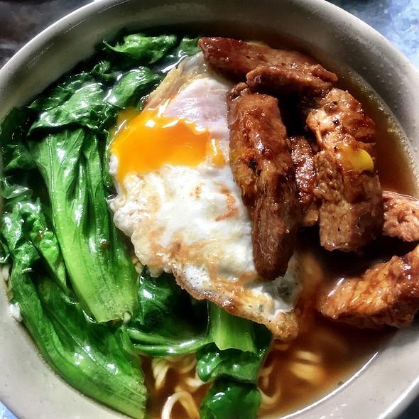 Pork Chop Ramen @ Bing Kee
