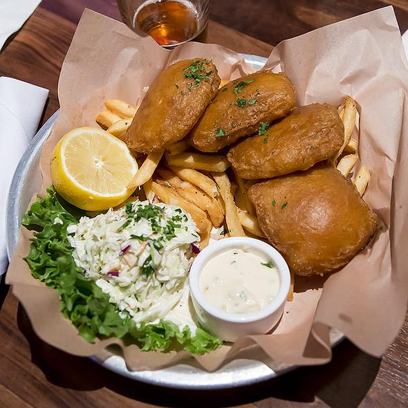 Beer-Battered Fish & Chips @ Lazy Dog Restaurant & Bar
