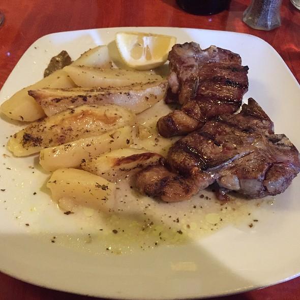 Lamb Chops @ 12 Islands Greek Resturant