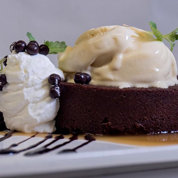 Flourless Dark Chocolate Cake - 1906 at Longwood Gardens, Kennett Square, PA