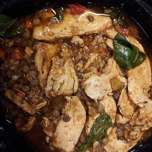 Lentil Quinoa Bowl With Chicken @ Panera Bread