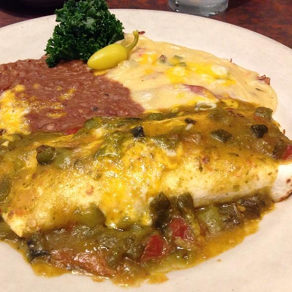 Green Chile Pork Burrito