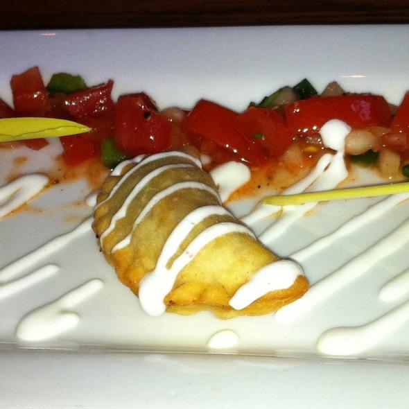 empanadas @ Atlas Restaurant
