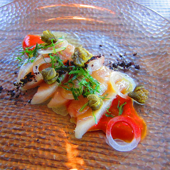 Hamachi Tiradito @ The SOCA Kitchen and Pub