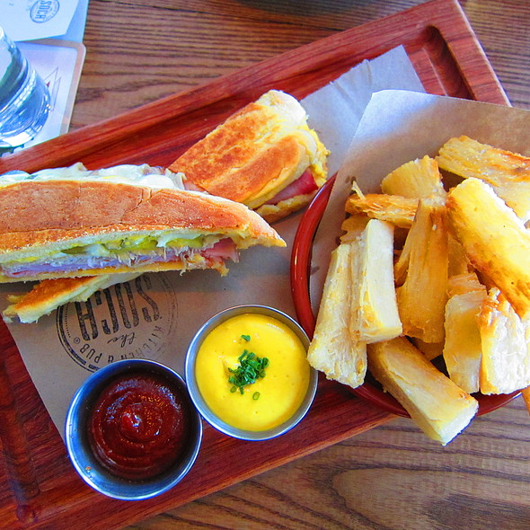 Cuban Sandwich @ The SOCA Kitchen and Pub