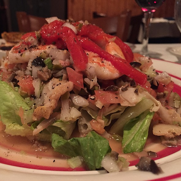 Seafood Salad For 2 @ Charlottes Web