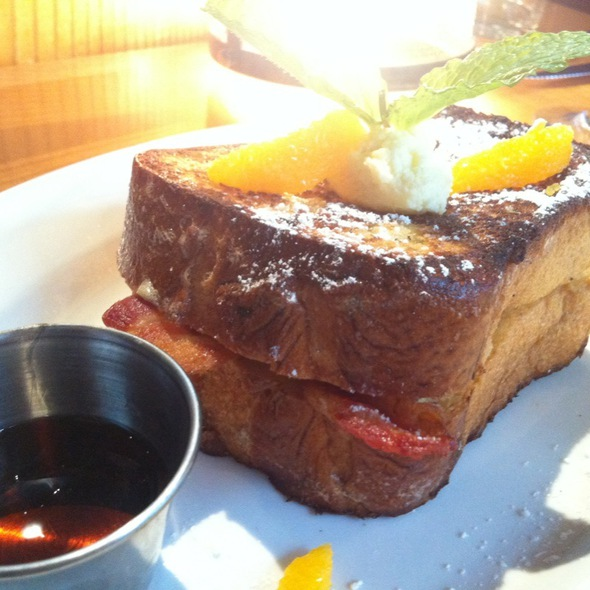 French Toast Stuffed W Bacon @ Poste Moderne Brasserie