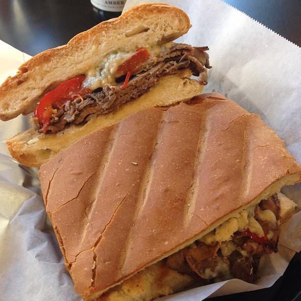 Roast Beef Panini @ Trinacria Foods