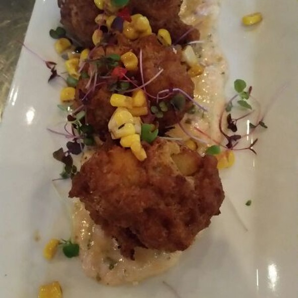 Crawfish Fritters - Oceanaire Seafood Room - Houston, Houston, TX