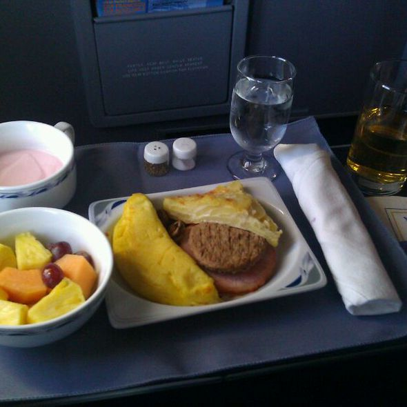 Omelette @ Continental Airlines: Domestic & International