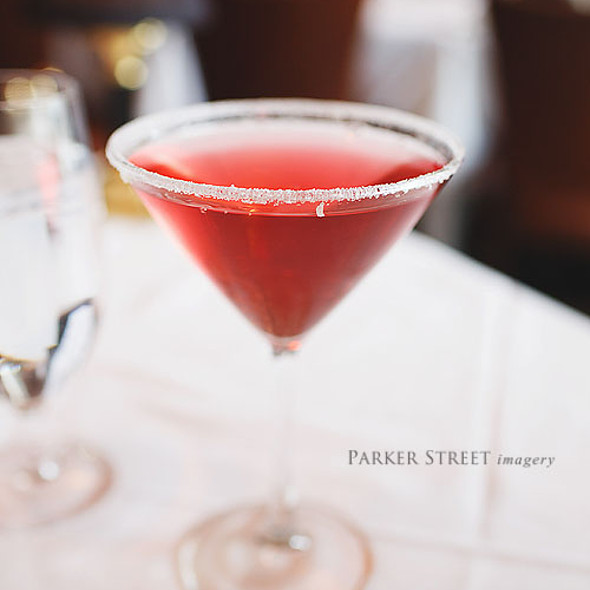 Pomegranate Martini - Hanover Street Chophouse, Manchester, NH