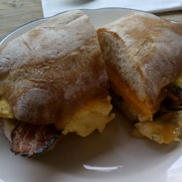 Farm Egg Sandwich @ The Farm on Adderley