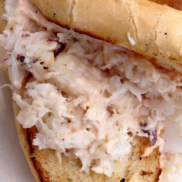 Crab Sandwich @  The Tides Wharf Restaurant & Bar