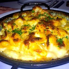 Orechiette Pasta Oven Baked In A Pecorino Pepato Gorgonzola Cheese Sauce - Onotria Wine Country Cuisine, Costa Mesa, CA