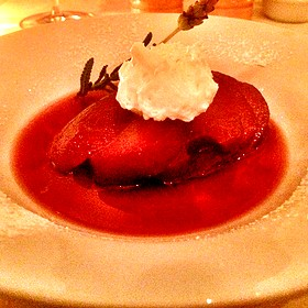 Poached Pear - Onotria Wine Country Cuisine, Costa Mesa, CA
