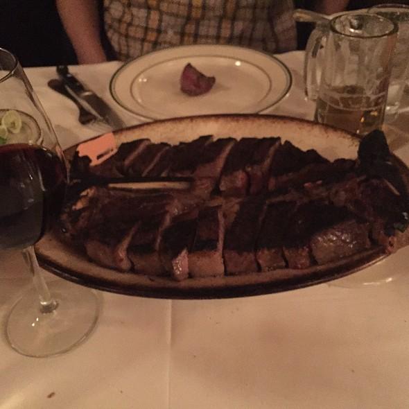 porterhouse steak - Wolfgang's Steak House - 54th Street, New York, NY
