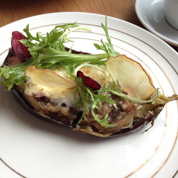 roast eggplant @ Edition Coffee Roaster