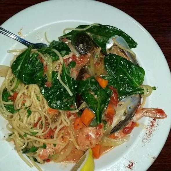 Seafood Pasta - Jake and Telly's Greek Taverna, Colorado Springs, CO