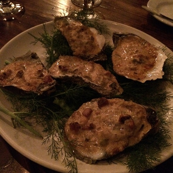 Roasted Oysters @ Coquette