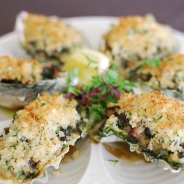 Market Fresh Oysters - Bonavista Revolving Lounge at The Westin Bonaventure Hotel, Los Angeles, CA