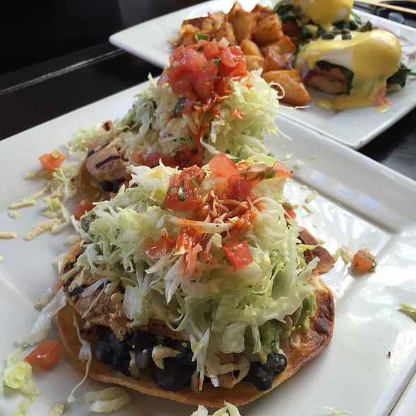 Vegan Chicken Tostada