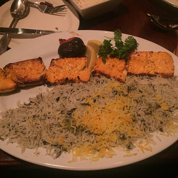 Grilled Salmon - Persian Room, Scottsdale, AZ