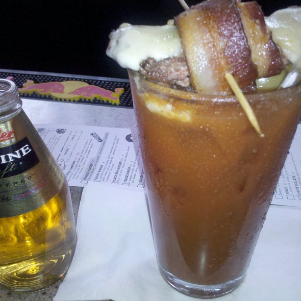 Spicy Bloody Mary @ AJ Bombers