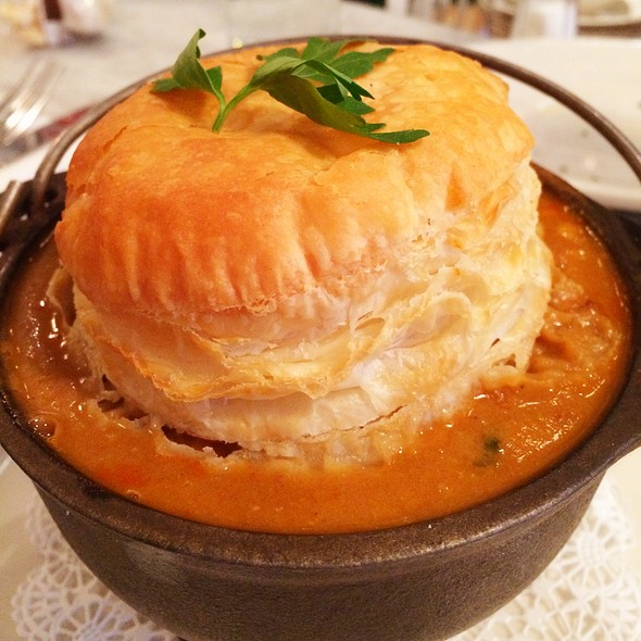 Lobster Pot Pie @ Ed's Lobster Bar