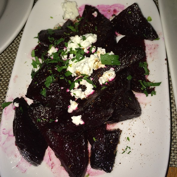 Roasted Beets And Goat Cheese - Rezaz Mediterranean Cuisine, Asheville, NC