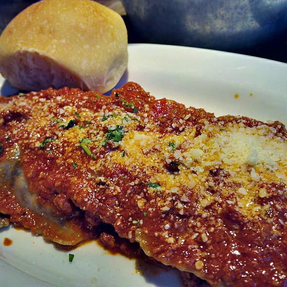 Mushroom Raviloi with Bolognese - Mirko Pasta - Buckhead, Atlanta, GA