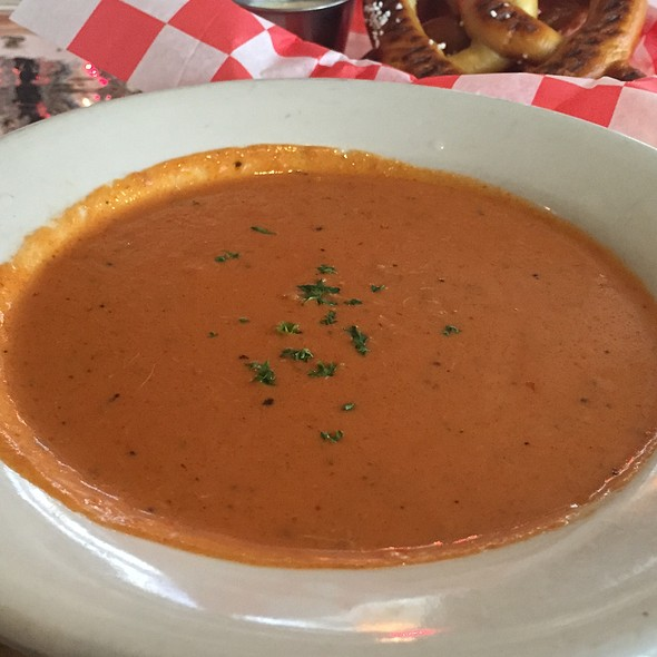 Tomato Crab Bisque - Capitol City Brewing Company - Downtown, Washington, DC